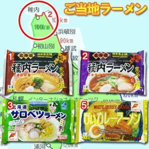 選べる ご当地ラーメン 生麺 送料無料 北海道 生ラーメン スープ付 2食入り 選べる 2袋セット ...