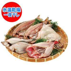 「北海道 干物セット 送料無料」 氷温乾燥 一夜干し きんき/ほっけ/真いか/宗八かれい セット 価格 8000 円|pointhonpo