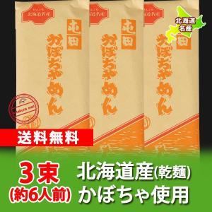 北海道 かぼちゃめん 送料無料 北海道のカボチャを使用した かぼちゃめん 200 g×3束 価格 1240 円 送料無料 メール便 うどん|pointhonpo