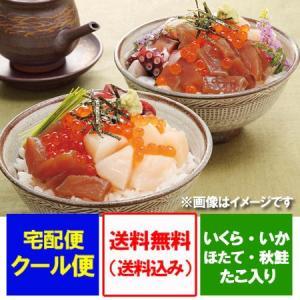 「北海道 海鮮丼 送料無料」 北海道産 勝手丼 セット「海鮮丼セット」価格 5500円|pointhonpo