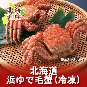 【毛蟹 北海道】 毛ガニ 浜茹で毛がに 380g×2尾|pointhonpo