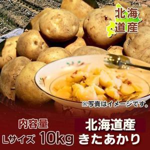 「北海道 じゃがいも きたあかり」 北海道産のじゃがいも キタアカリ Lサイズ 10kgをお届け 価格 2500 円|pointhonpo