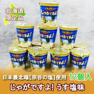「北海道 じゃがいも お土産」じゃがですよ!うす塩味 12個入|pointhonpo