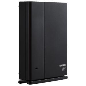 エレコム WMC-X1800GST-B メッシュ WiFiルーター 無線LAN WiFi6 11ax 1201+574Mbps IPv6 ( IPoE ) 対応 有線ギガ対応|pointshoukadou
