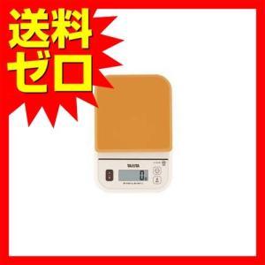 タニタ デジタルクッキングスケール オレンジTANITA KJ-210S-OR