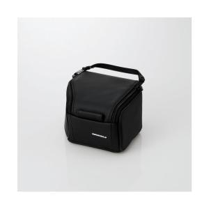 ELECOM 一眼カメラケース ブラック ZSB-SDG011BK エレコム コンパクトデジタル一眼レフカメラケース pointshoukadou