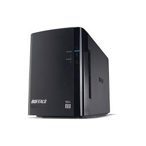 バッファロー RAID1対応 外付けHDD 2ドライブモデル...