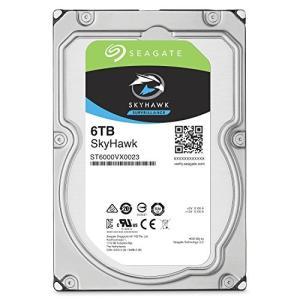 ST6000VX0023 シーゲイト SkyHawk HDDシリーズ 3.5inch SATA 6Gb/s 6TB 7200rpm 128MB 4Kセクター pointshoukadou