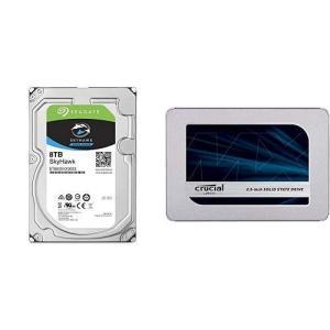 ST8000VX0022 シーゲイト SkyHawk HDDシリーズ 3.5inch SATA 6Gb/s 8TB 7200rpm 256MB 4Kセクター pointshoukadou