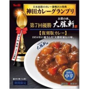エスビー食品(S&B) 神田カレーグランプリ 大勝軒 復刻版カレー 5入