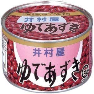 井村屋 ゆであずき 特4号缶×430g×12入