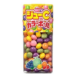 カバヤ食品 ジューC カラーボール 35g×10入