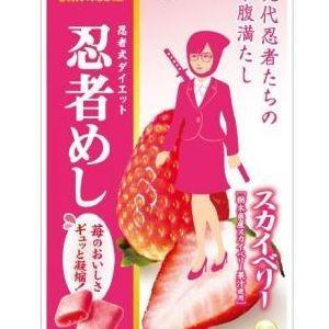 UHA味覚糖 忍者めし スカイベリー 20g×10入(1月下旬頃入荷予定)