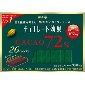 明治 チョコレート効果カカオ72% 26枚×6入|poipoimarket