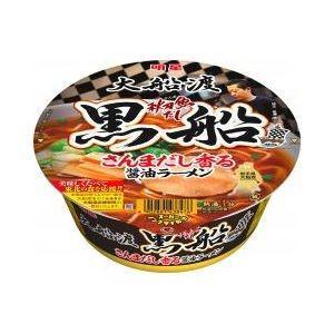 明星食品 黒船さんまだし香る醤油ラーメン 12入(3月上旬頃入荷予定)