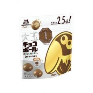 大粒のピーナッツとクリスプ層に香り豊かなカフェラテチョコレートをたっぷりコートした通常の2.5倍サイ...