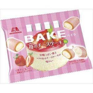 森永製菓 ベイク 苺のチーズケーキ味 10粒×12入