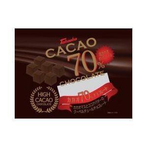 話題のハイカカオチョコレートカカオ分70%、植物油脂を使用しないクーベルチュールのビターチョコです。