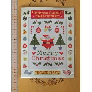 クリスマスサンプラー  クロススティッチキット  from  London