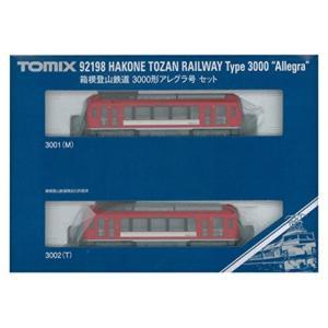 トミックス(TOMIX) Nゲージ 箱根登山鉄道 3000形 アレグラ号セット 92198 鉄道模型...