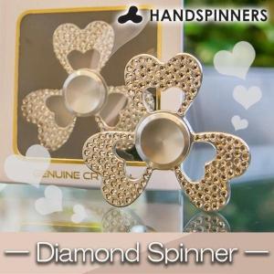 HANDSPINNERS DiamondSpinner(ダイヤモンドスピナー) ハンドスピナー ハートモデル シルバー