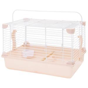 【発売元】 マルカン  【商品説明】 小鳥やハムスターなど小動物とのお出かけに安全なキャリーです。固...