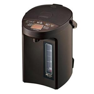 象印(ZOJIRUSHI) 優湯生(ゆうとうせい) マイコン沸とうVE電気まほうびん 3.0L ブラウン CV-GB30-TA|pokkey