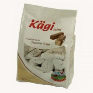 (ケース販売)(12個セット)カーギ(Kagi) ウエハース ミニ ミルクバッグ 125g