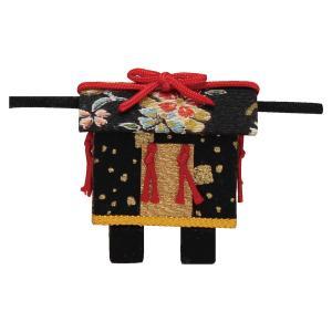 雛人形雛道具 雛小道具 御駕籠(おかご)手作りちりめん細工  マンションサイズ コンパクト リュウコ...