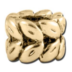 バブルルルビーズ(Bauble LuLu beads)Antique Gold Laurel Wreath、パンドラ(Pandora)、トロールビーズ(Trollbeads)等幾通りものカスタマイズ可能! polkadot