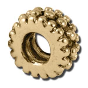 バブルルルビーズ(Bauble LuLu beads)Beaded Rondelle、パンドラ(Pandora)、トロールビーズ(Trollbeads)等幾通りものカスタマイズ可能! polkadot