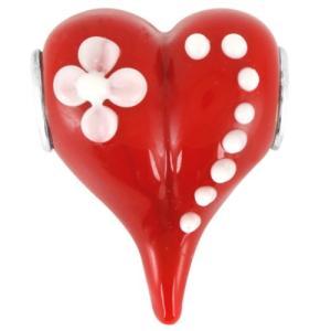 バブルルルビーズ(Bauble LuLu beads) Passionate Heart、パンドラ(Pandora)、トロールビーズ(Trollbeads)等幾通りものカスタマイズ可能! polkadot