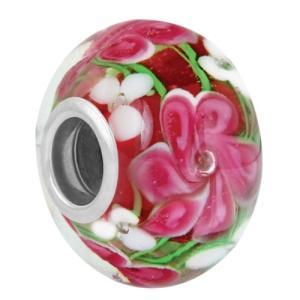 バブルルルビーズ(Bauble LuLu beads) Posey Rondelle、パンドラ(Pandora)、トロールビーズ(Trollbeads)等幾通りものカスタマイズ可能! polkadot