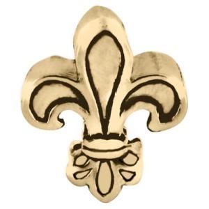 バブルルルビーズ(Bauble LuLu beads) Antique Gold Fleur De Lis、パンドラ(Pandora)、トロールビーズ(Trollbeads)等幾通りものカスタマイズ可能! polkadot