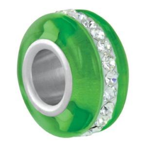 バブルルルビーズ(Bauble LuLu beads)Lime Trackstone、パンドラ(Pandora)、トロールビーズ(Trollbeads)等幾通りものカスタマイズ可能!|polkadot
