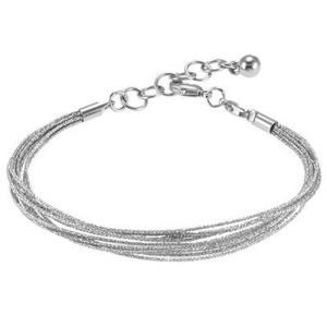 バブルルルビーズ(Bauble LuLu beads) Multi-Strand Bracelet 9-10inch、パンドラ(Pandora)、トロールビーズ(Trollbeads)等幾通りものカスタマイズ可能! polkadot