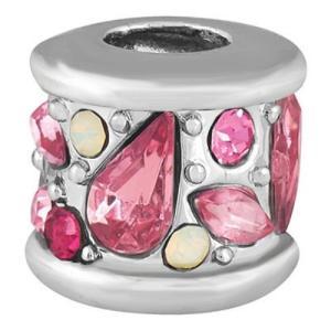 バブルルルビーズ(Bauble LuLu beads) Bejeweled - Pinks、パンドラ(Pandora)、トロールビーズ(Trollbeads)等幾通りものカスタマイズ可能!|polkadot