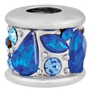 バブルルルビーズ(Bauble LuLu beads) Bejeweled - Blues、パンドラ(Pandora)、トロールビーズ(Trollbeads)等幾通りものカスタマイズ可能!|polkadot