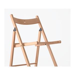 IKEA Original TERJE 折りたたみチェア ビーチ無垢材 ダイニングチェア|polori