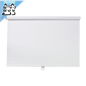 【IKEA Original】TUPPLUR カーテン 遮光ローラーブラインド ホワイト 80x195 cm|polori