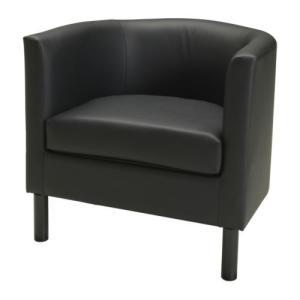 IKEA Original SOLSTA OLARP アームチェア ソファ イドゥフルト ブラック|polori
