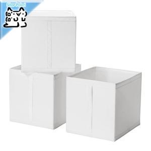 IKEA Original SKUBB-スクッブ- ボックス 3ピースセット ホワイト 31×34×33 cm|polori
