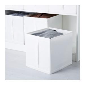 IKEA Original SKUBB-スクッブ- ボックス 3ピースセット ホワイト 31×34×33 cm|polori|03