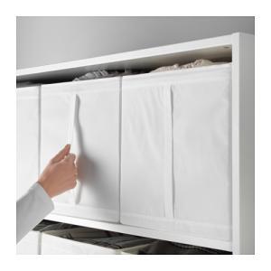 IKEA Original SKUBB-スクッブ- ボックス 3ピースセット ホワイト 31×34×33 cm|polori|04