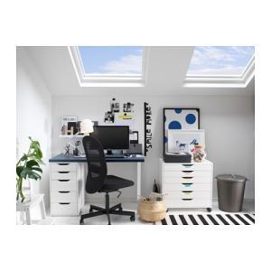 IKEA Original ALEX 引き出しユニット サイドワゴン ホワイト 36x70 cm 《-イケア-》|polori|02