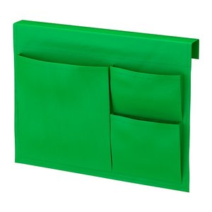 IKEA Original STICKAT ベッドサイドポケット グリーン 39x30 cm|polori