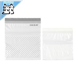 IKEA Original ISTAD プラスチック袋 グレー/ホワイト 50PCS 2.5L袋*25/1.2L袋*25|polori