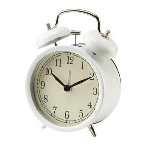 IKEA Original DEKAD アラームクロック 目覚まし時計 ホワイト|polori