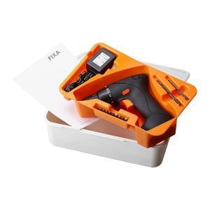 IKEA Original FIXA-フィクサ- スクリュードライバー/ドリル リチウムイオンバッテリー polori