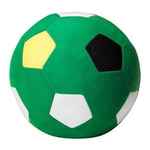 IKEA Original SPARKA ソフトトイ ぬいぐるみ サッカーボール グリーン 20cm|polori